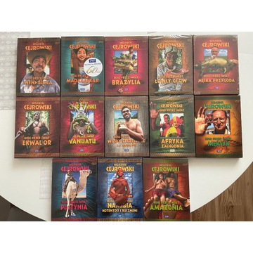 Boso przez świat - W.Cejrowski zestaw 13 DVD-BOX