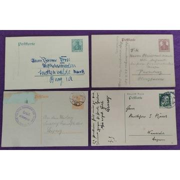 D. Reich Postkarte zestaw