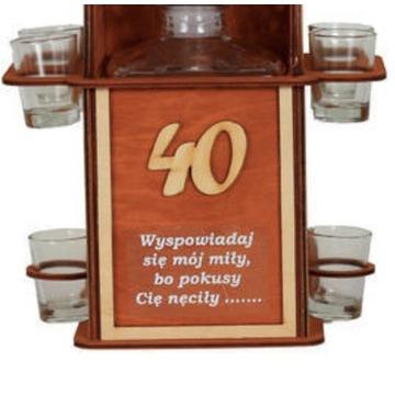alkohol na prezent konfesjonał na 40tke