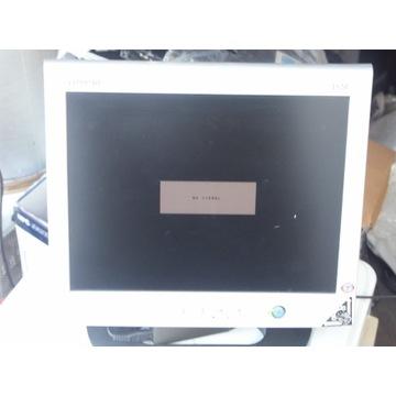 duzy monitor LCD COMPAQ 1520