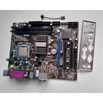 Płyta MSI G41M-P28 LGA775 DDR3 + gratis C2D E8300