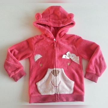 ciepła różowa bluza z kapturem MISIO 5.10.15 r 110