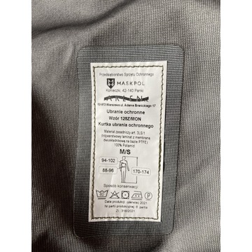 Kompletne Ubranie Ochronne Wzór 128Z/MON