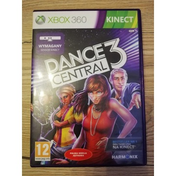 Dance Central 3 Kinect Xbox 360