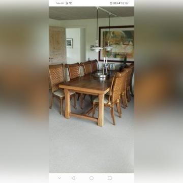 Stół Dąb duży masywny