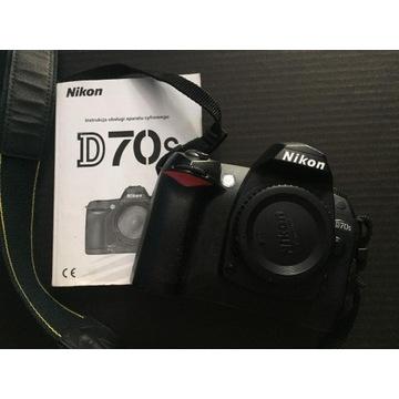 Nikon D70S + GRIP + Ładowarka