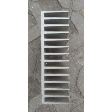 Duży radiator aluminiowy 30,5x16,5x5 cm