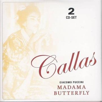MARIA CALLAS STUDIO Puccini Madama Butterfly 2CD