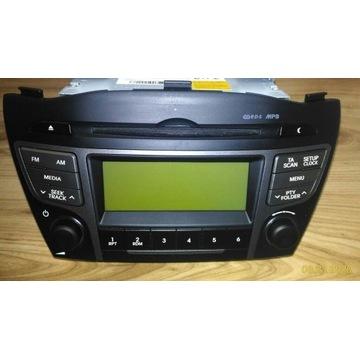 Radio samochodowe Hyundai IX35 2Y000TJN AC100ELE