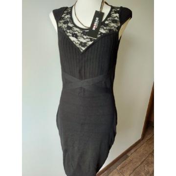Sukienka Morgan r. S/M, czarna nowa z metką