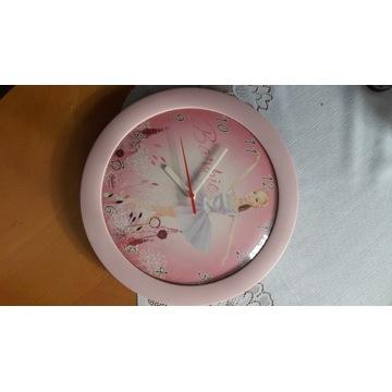 Zegar ścienny Barbie.