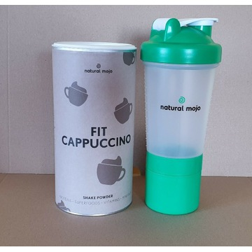 NATURAL MOJO SHAKE- Zestaw Fit Cappuccino + shaker