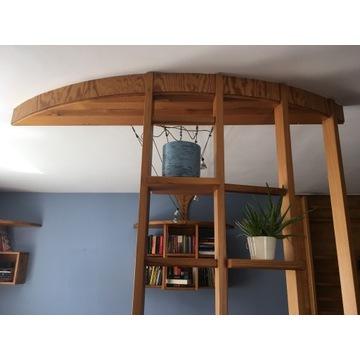 Ozdobna drabinka z drewna sosnowego