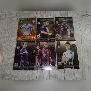 5 kart  champions league + 1 karta fifa 365