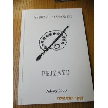 PEJZAŻE Ruszkowski wyd. Puławy 2000