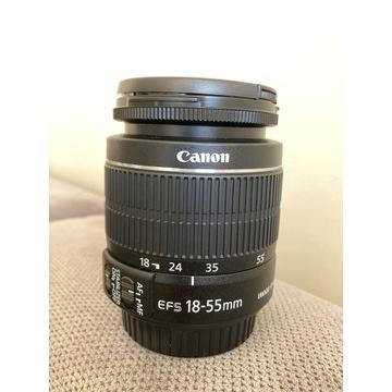 Obiektyw Canon EF-S 18-55 mm 1:3.5-5.6 IS II