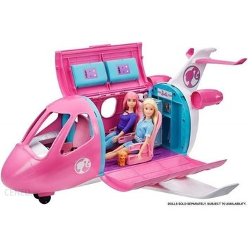 Barbie Dreamhouse Samolot Barbie GDG76