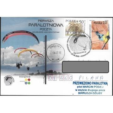 Poczta specjalna paralotniowa 2015 Krasnystaw
