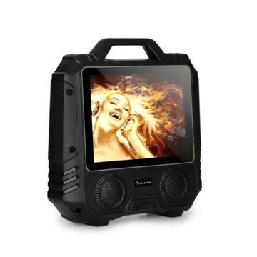 Przenośny głośnik Karaoke Auna: 14'ekran, USB
