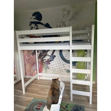 Łóżko dziecięce piętrowe - antresola