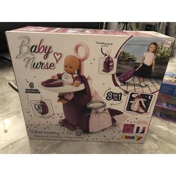 Smoby, Baby Nurse, wielofunkcyjna walizkadla lalki