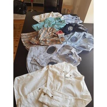 Koszule dla chłopca rozm.116-128