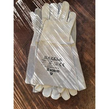 Rękawice spawlnicze typu TIG ze skóry licowej nr 9
