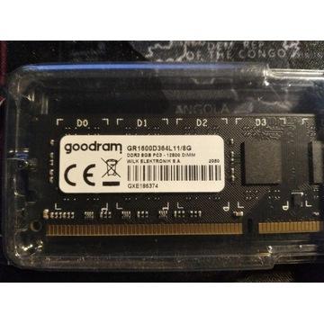 PAMIEĆ RAM GOODRAM 8 GB 1600MhZ 11CL DDR3