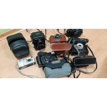 Zestaw aparatów Hp lubitel olympus cena za komplet