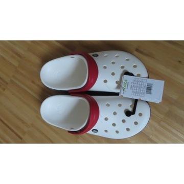 Crocs sandały klapki buty nowe nowe roz 42-43