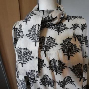 Bluzka Reserved Nowa XL czarno biala