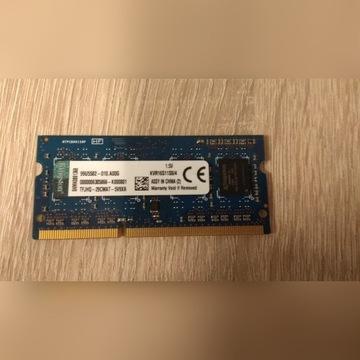 RAM do laptopa Kingston DDR3 SODIMM 4GB 1600MHz