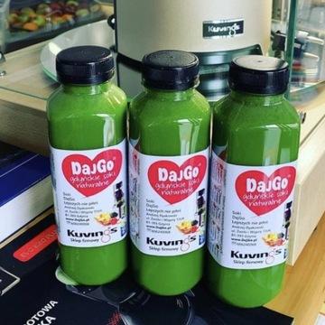 Świeżo wyciskane soki DajGo warzywno owocowe