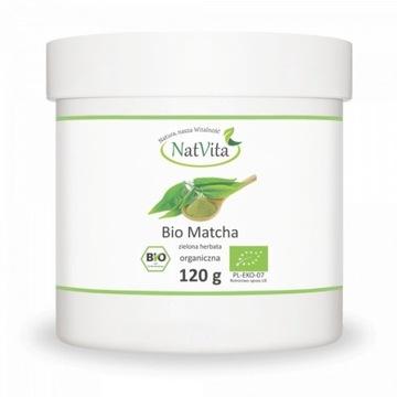 Matcha BIO herbata zielona 120g