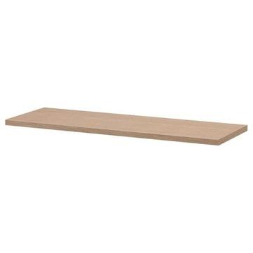 IKEA Półka do regału Billy dąb bejcowany na biało