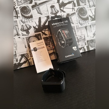 Vivoactive HR Garmin GPS smartwatch sportowy