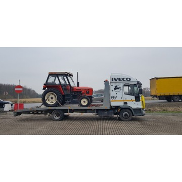 Pomoc drogowa transport maszyn