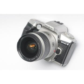 Minolta Dynax 4 + 28-80 D + GRATISY !!!
