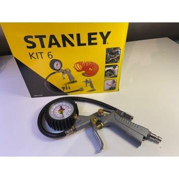 Pistolet Stanley z manometrem