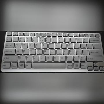 Sony VAIO SVE SVE14 klawiatura srebrna