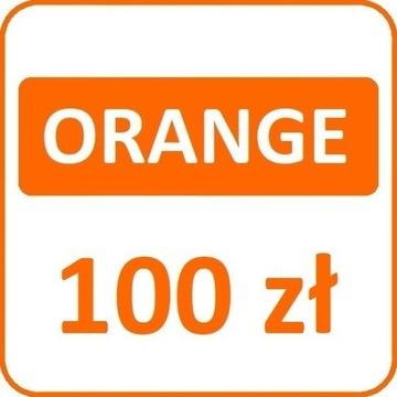 Doładowanie Orange Nju  100  Szybka wysyłka