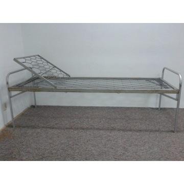 Łóżko metalowe na sprężynach