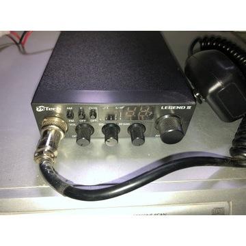 Cb radio M-Tech Legend II z anteną