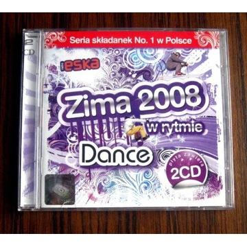 DANCE ZIMA 2008 THE BEST 2 CD eska