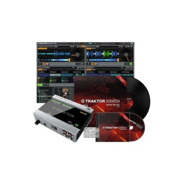 Native Instruments DVS Traktor + A6 + Vinyl + CD