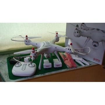 Dron SYMA X 8 PRO-FPV-zawis GPS-Kamera HD-2 aku