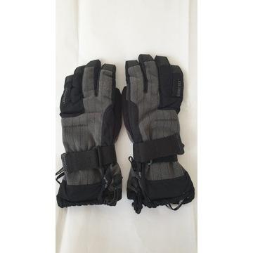 Rękawice snowboardowe z usztywnieniem, linerem, Go