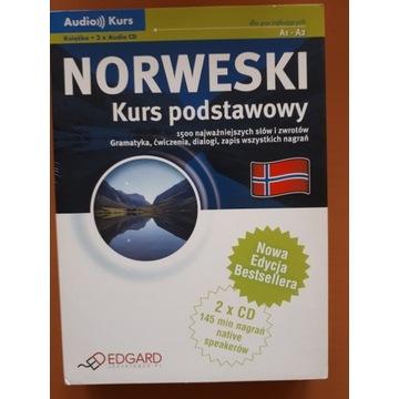 Edgard Norweski Kurs podstawowy + 2CD