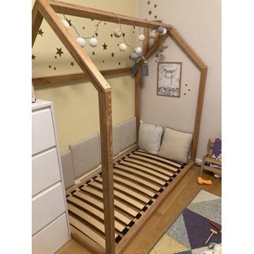 Łóżko dziecięce Domek stelaż hand-made