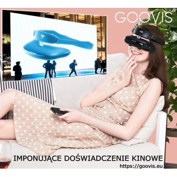 GOOVIS G2N lepsza jakość obrazu OCULUS VIVE PICO
